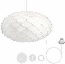 kwmobile DIY Puzzle Lampe Blumen Design -