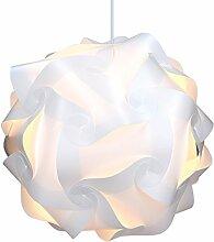 kwmobile DIY Puzzle Lampe XL Deckenlampe -