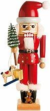 KWO Olbernhau 19301 Nussknacker Santa Claus, 29 cm