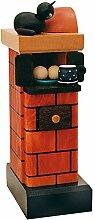 KWO Olbernhau 75804 Kachelofen, 20 cm, rot-rauchend