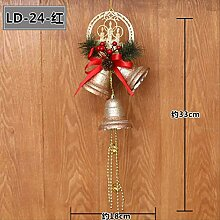 KWOSJYAL Weihnachtsglocken, Christbaumanhänger,