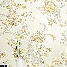 KXZZY 3D nicht - Gewebte Tapete Wohnzimmer Schlafzimmer Wand Hintergrund Tapete m Hintergrund weiss 0.53M*10M