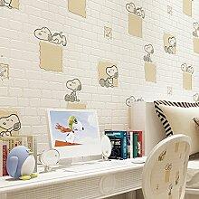 KXZZY Europäische 3D nicht - Gewebte Tapete Wohnzimmer Schlafzimmer TV Hintergrundbild