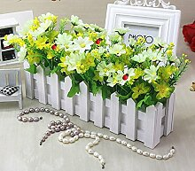 KXZZY Startseite Dekorationen Ornamente Grün Künstliche Blumen Continental moderne Wohnzimmer Schlafzimmer Büro creative