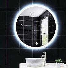 KY-01 Wandspiegel wandmontierter Badspiegel,