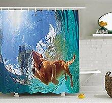 KYCD Lustige Duschvorhang von, Unterwasser Foto