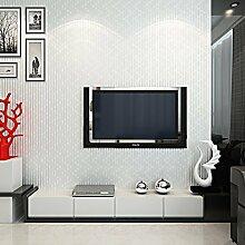 KYDJ ® 3D nicht gewebte Tapete Wohnzimmer-Fernsehhintergrund-Wand-Schlafzimmer-Tapete 0.53 * 10M