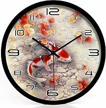 KYDJ Feng Shui Uhr stumm Die Uhr Gelegenheit