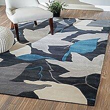 KYDJ FIOFE/Haushalt Wohnzimmer Wohnzimmer Flur Teppich sofa schöne dicke Handarbeit Blume Garten (Größe: 1700 mm*2400 mm)