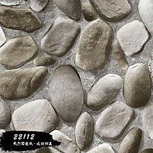 KYKDY 3D stereoskopische Steinwand Tapete für