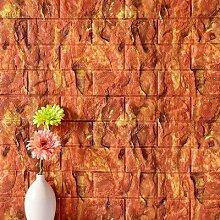 KYKDY 3D Ziegel Wandpaneele Wohnkultur für