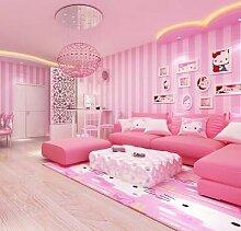 KYKDY Moderne Zimmer Tapeten Wohnkultur Rosa