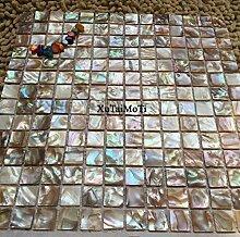 KYKDY Shell Mosaik Perlmutt natürliche bunte