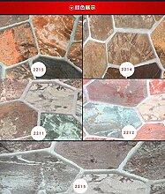 KYKDY Stereoskopische Stein-Tapete 3D für Wände
