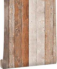 KYKDY Vintage Holz Tapete für Wände 3d 0,53m *