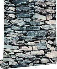 KYKDY Vintage Ziegel-Tapete für Wände 3d