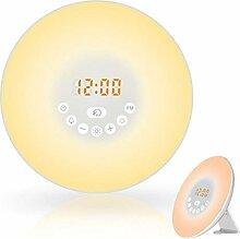 Kylewo LED Lichtwecker,Wake Up Licht Wecker Wake