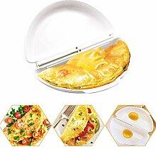 Kylewo Omelette-Maker aus Silikon, Rührei Maker