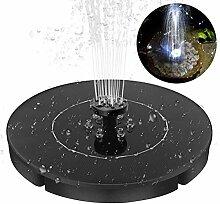 Kylewo Solar Springbrunnen, Mini LED wasserdichte