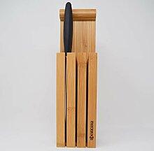 Kyocera Messerblock Bamboo Bis zu 4 Messer passen