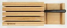 KYOCERA Messerblock Bamboo Einheitsgröße beige