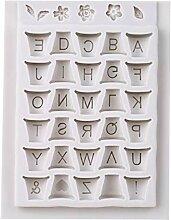 Kyoidy DIY Blumentopf Buchstaben Form