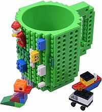KYONNE Build on Brick Tasse, Becher zur Junge oder