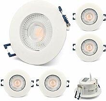 KYOTECH LED Einbaustrahler Ultra Flach 230V