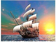 KYYBAX 5D DIY Diamond Painting Set Segelboot bei