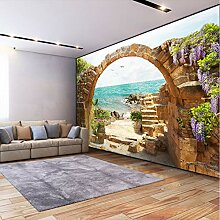 Kyzaa Benutzerdefinierte Wandbild Tapete Garten
