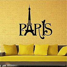 Kyzaa Geschnitzte Paris Turm Zimmer Wand