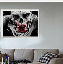 Kyzaa Horror 3D Wandaufkleber Happy Halloween