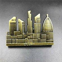 kzfs Kühlschrankpaste Metall 3D Stereoskopische