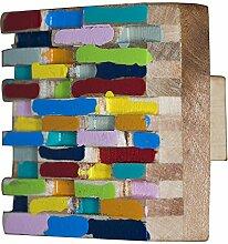L 'Agape pomistral cm Möbelgriff Küchengriff Schubladengriff Holz, rund) mehrfarbig