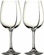L'Atelier du Vin 095232-2 Weinglas / Degustationsglas L'Exploreur Classic – 2er Karton inkl. Aromen-Weinfibel