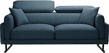 L'Officiel Interiors   2-Sitzer-Sofa Gigi blau