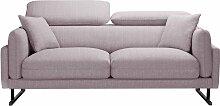 L'Officiel Interiors   2-Sitzer-Sofa Gigi rosa