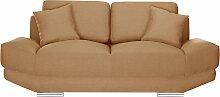 L'Officiel Interiors   2-Sitzer-Sofa Kaya gelb