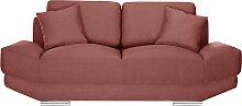 L'Officiel Interiors   2-Sitzer-Sofa Kaya rot