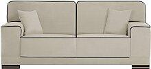 L'Officiel Interiors   Cara 2-Sitzer-Sofa grau