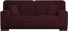 L'Officiel Interiors   Cara 2-Sitzer-Sofa rot