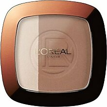 L'Oreal Glam Bronze Duo Sonnenpulver Brünette - Packung mit 2