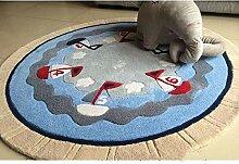 L&BW Runder Teppich, Flächenteppiche,