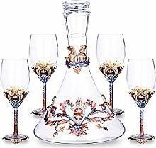 L-H-X Weingläser, High-End-Glas Rotwein Glas