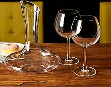 L&J Bleifreier Kristall Wein dekanter-Wine Glass