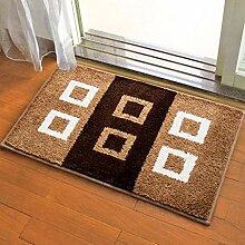 L@LILI Teppiche Teppich Fußmatten Bad Teppich
