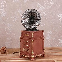 L&LQ Deko-Shop Retro-Bar dekorative piggy bank kreative Geschenke Heimtextilien Grammophon auf dem Display Requisiten , a
