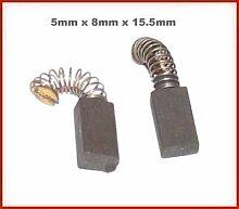 L M Electrical 2 x Kohlefaser Bürsten GBH2SR