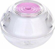 L&R Mini Crystal Befeuchter Usb Power Port Haushalt Airultrasonic Aroma Luftbefeuchter LED, pink