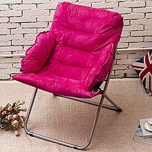 L-R-S-F Faul Sofa, Falten Faul Stuhl, Lounge Chair, Einzelsofa Computer Stuhl, Mittagspause Zurück Stuhl, Moon Chair ( Farbe : 3# )